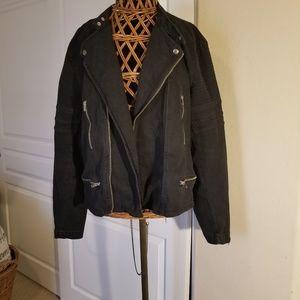 Moto Jacket- Black